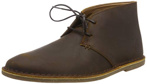 Clarks Baltimore Mid, Stivali Desert Boots Uomo, Marrone (Beeswax Leather-), 43 EU