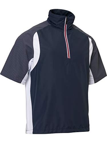 ABACUS Formby Stretch Windshirt Herren Navy/weiß S