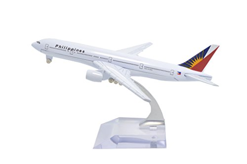 TANG DYNASTY(TM) 1:400 16cm Boeing B777 Philippine Airlines Metal Airplane Model Plane Toy Plane Model