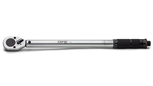 Diamond Ergonomic Grip 3-1104 80-365 Foot Pounds Capri Tools 31104 3//4-inch Drive Torque Wrench