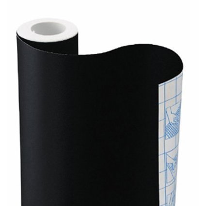 """YOPO Sticky Back Chalkboard Contact Paper for Home or Office -Great for Walls (18"""" x 79"""")"""