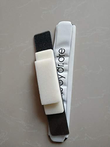 Replacement Headband Sponge Cushion Pad Parts Compatible Beats by Dr. Dre Pro Detox Headphones (White)