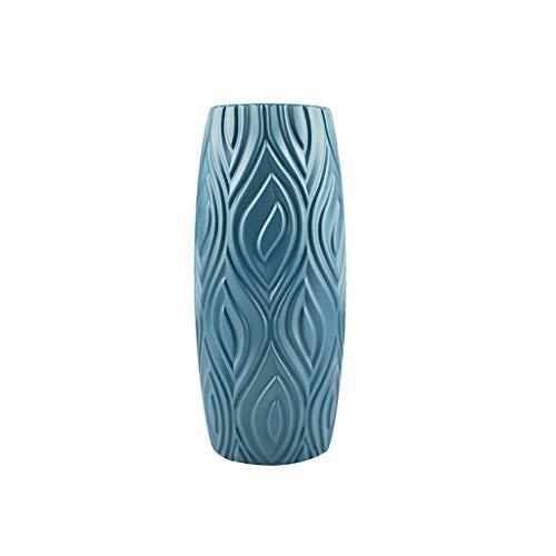 haoyuestory Nordic Origami Imitation Keramik Blumenvasen, Trendiger Stil Blumenpflanze Anordnung Flasche, Deko Vase Für Wohnzimmer, Zuhause Und Büro