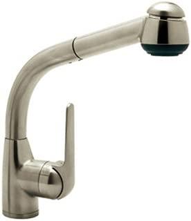Rohl R7913STN De Lux Kitchen Faucet, Satin Nickel