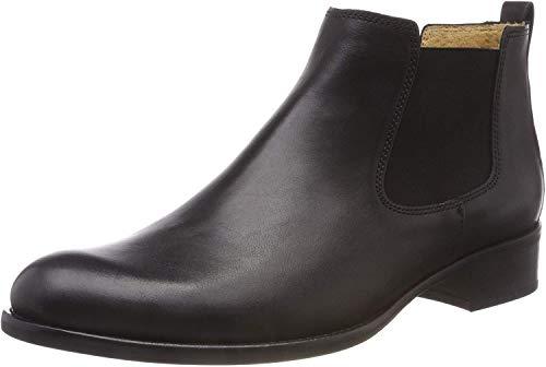 Gabor Damen Chelsea Boots 31.640, Frauen Stiefelette,Stiefel,Halbstiefel,Bootie,Schlupfstiefel,flach,schwarz,41 EU / 7.5 UK