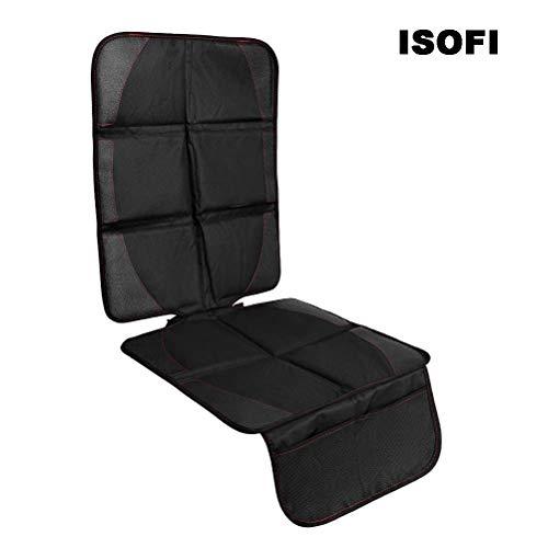 Stecto - Protector de asiento de coche para niños con interfaz ISOFIX antideslizante