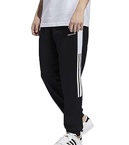 adidas Classics TP, Pantaloni Sportivi Uomo, Black/White, M