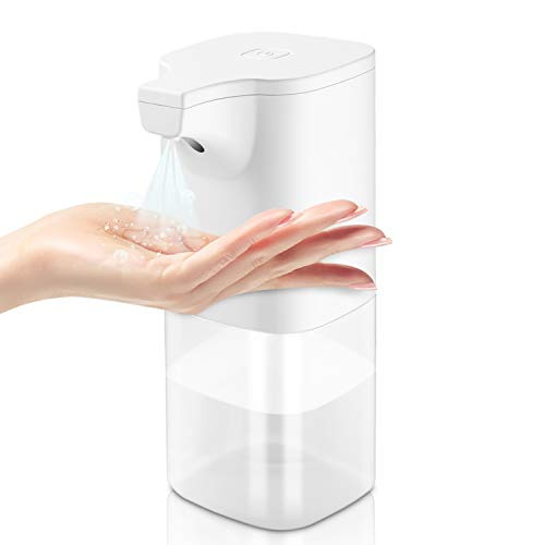 Price comparison product image ELTD Automatic Induction Hand Disinfection Machine Alcohol Disinfection Sprayer Touchless Alcohol Sanitizer Disinfectant Dispensers White, 350ml