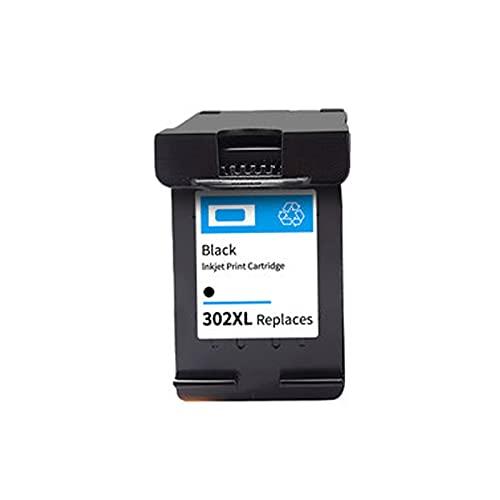 AXAX Reemplazo Compatible para el Cartucho de tóner HP 302XL para HP DeskJet 1110 1115 2130 2135 3630 3830 OfficeJet 4650 Impresora, Suministros de Oficina Imagen verdade Black