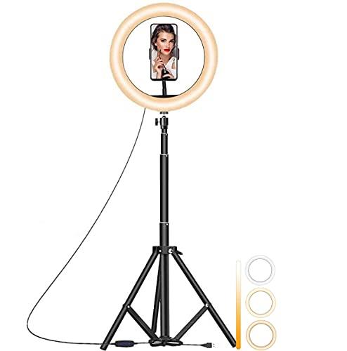 N++A Aro De 26cm Luz Led Celular Foto Video Maquillaje 170 cm Tripie para Selfies con