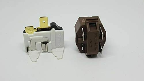 Price comparison product image 4387913 refrigerator / freezer overload relay kit for Whirlpool,  Frigidaire,  GE,  KitchenAid,  LG,  Magic Chef. 4387913 7020935 4387766 4387836