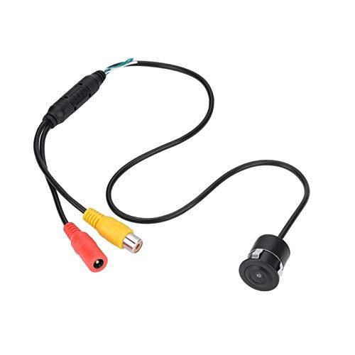 Demeras Cámara CCTV a Prueba de Agua CCD granangular de 170 Grados con Cable Mini cámara CCTV en Color PAL para automóvil