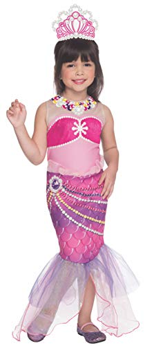 Rubies Barbie and The Pearl Princess Lumina Costume, Toddler Size
