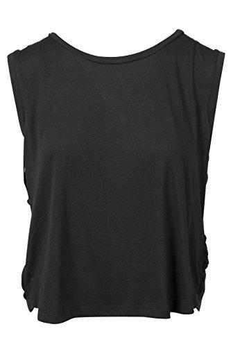 BILLABONG Right Time - Camiseta para Mujer, Color Negro, Talla S