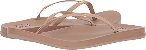 Reef Women's Cushion Slim Sandals, Nude, 6