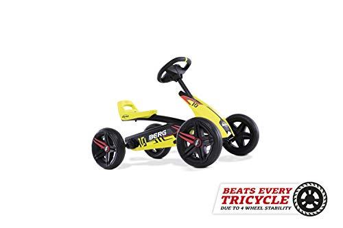 BERG Gokart Buzzy Aero | Kinderfahrzeug, Tretauto, Sicherheid und Stabilität, Kinderspielzeug geeignet für Kinder im Alter von 2-5 Jahren