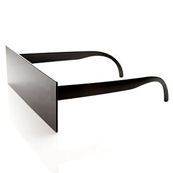 Internet Censorship One-Piece Black Bar Novelty Sunglasses  Black