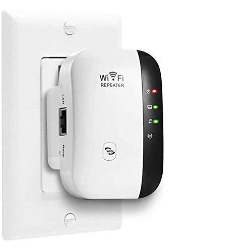FOLME Amplificateur WiFi, 300 Mbps Répéteur WiFi 2.4G WiFi...