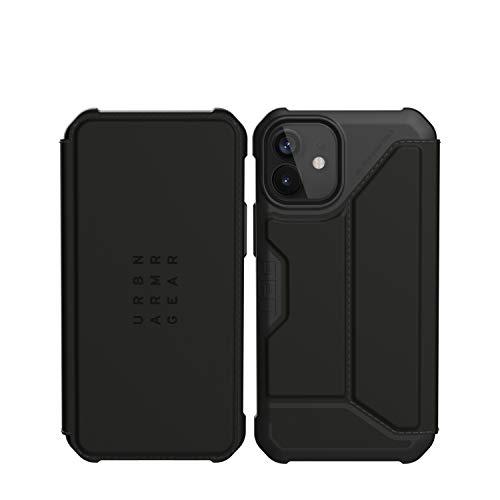 URBAN ARMOR GEAR iPhone 12 mini(5.4) 2020対応耐衝撃ケース METROPOLIS PU ブラック 【日本正規代理店品】 UAG-IPH20SF-BK