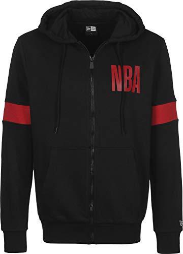 New Era NBA Chicago Bulls Chaqueta con Capucha Black