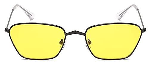 Gafas De Solgafas De Sol Clásicas De Ojo De Gato conMontura Pequeña paraMujer/Hombre, Gafas De Sol con Espejo De Aleación De Diseñador De Marca,