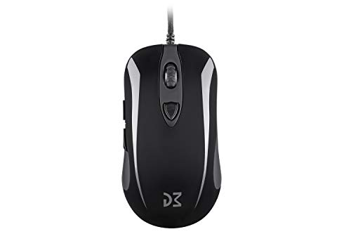 Dream Machines DM1 FPS Onyx Black Gaming Mouse