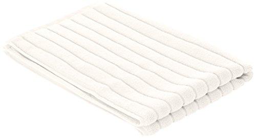 BLANC CERISE 601004 Tapis de Bain Coton Blanc Cassé