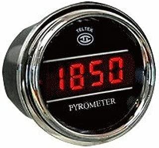 Pyrometer Gauge Exhaust Gas Temperature Sensor for Any Semi, Pickup Truck or Car - Gauge Diameter - 2 1/16