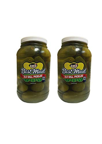 Best Maid Dill Pickles, 18-22 ct, 128 oz (2 Gallons)