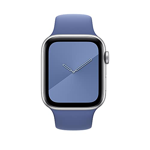 Apple Watch (44mm) Sportarmband, Leinenblau - Regular