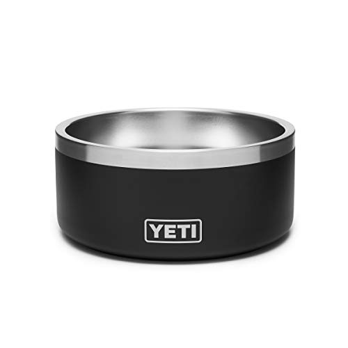 YETI Boomer 4 Stainless Steel, Non-Slip Dog Bowl, Holds 32 Ounces, Black