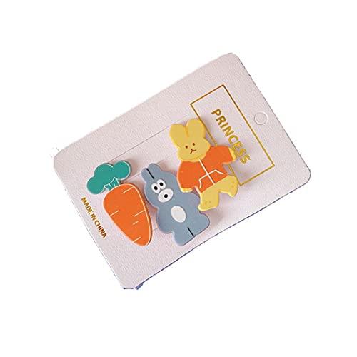FEILEC Hårklämma akryl sidoklämma ett ord klämma hundmönster hårklämma huvudbonad hårsmycke lämplig för barn och kvinnor totalt 10,5 x 7,5 cm (flera alternativ finns)