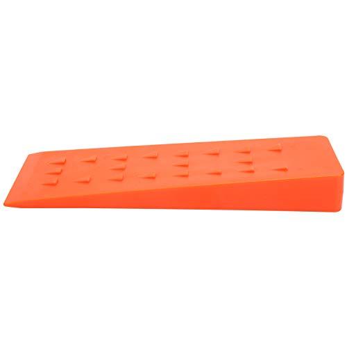 Cuñas de plástico, tamaño compacto Cuñas de corte de fácil operación, naranja para tala forestal Industria maderera Carpintería