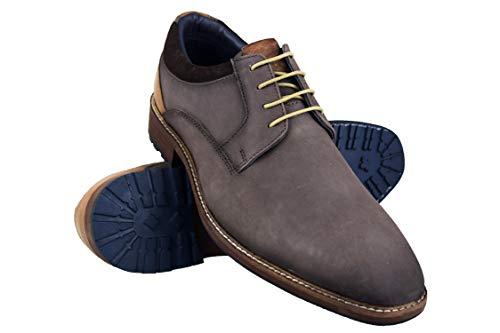 Zerimar Zapatos Hombre Vestir | Zapatos Hombre Casuales| Zapatos de Piel Hombre |Zapatos Hombre Elegantes | Zapatos Casual para Hombre Color Marrón Número 45