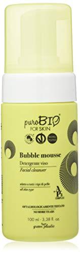 Purobio Bubble Mousse Detergente Viso - 100 Ml