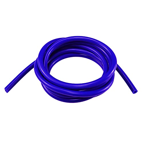 """Ucreative 10FT High Temperature Silicone Vacuum Tubing Hose Blue (1/4"""" (6mm))"""