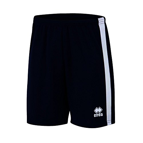 BOLTON Trainingshose (kurz) · UNISEX Sporthose mit Kontraststreifen Größe XL, Farbe schwarz-weiß, Farbe schwarz - weiß