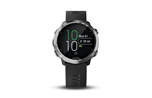 Garmin 010-01863-20 Forerunner 645 Music, GPS Running Watch with Pay Contactless Payments, Wrist-Based Heart Rate and Music, Black, 1.2