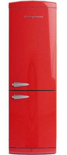 Bompani bocb697/R autonome 302L A + Rot Kühlschränken–réfrigérateurs-congélateurs (autonome, rot, rechts, 302L, 316L, T)