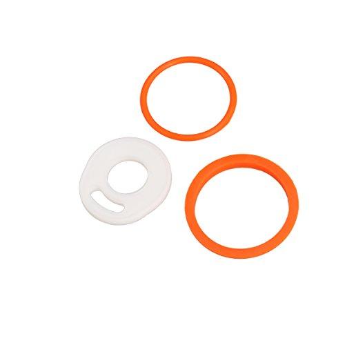 UKCOCO Sillicone Dichtungsring von 2 Farben für TFV8 Atomizer (Orange)