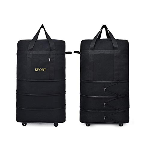 Bolsa de viaje, maleta, carro, maleta de gran capacidad, impermeable, plegable, adecuado...