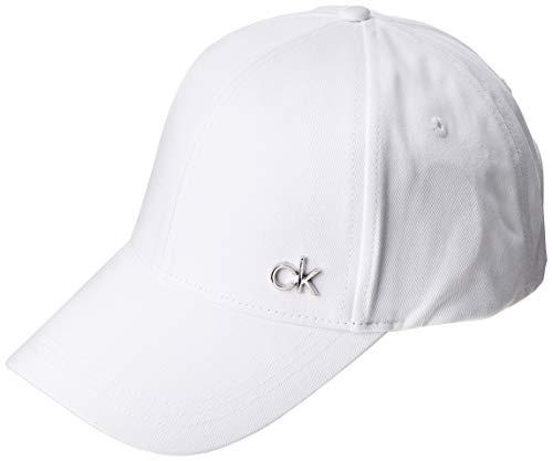 Calvin Klein Herren K50k505182 Mütze, Schal & Handschuh-Set, Weiß (White Yad), One size (Herstellergröße: OS)
