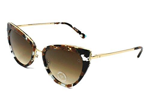 Etnia Barcelona - Gafas de sol - para mujer Marrón marmor stil braun - kristall schwarz XS