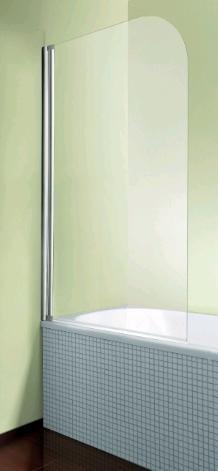 Breuer Badewannenaufsatz Breite 80cm, MK 400, Höhe 140cm,