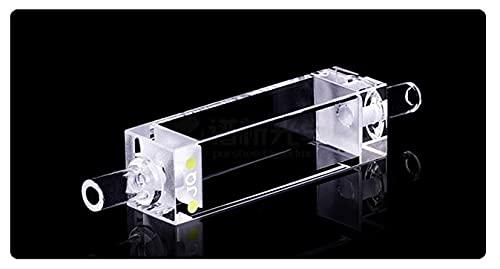 Xue Mei Zi Flujo Fluorescente De Cuarzo De 3, 5 Ml Capacidad De La Cubeta Ruta Óptica De 3, 5 Ml 10 Mm Longitud De Onda Aplicable 200 NM - 2500 NM Dimensiones 12,5x12, 5x45 Mm (Color : 8PC)