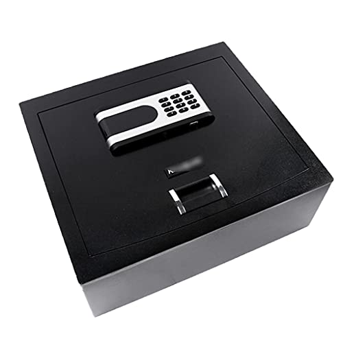 A salvo Caja Fuerte abatible Caja Fuerte Invisible incorporada en el hogar Caja Fuerte con cajón Empotrado en Armario Caja Fuerte Digital de Acero Caja Fuerte Oculta con Tapa Abierta