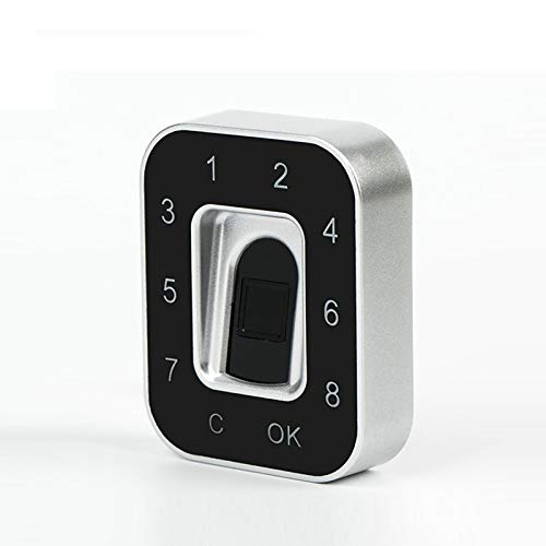 Hochpräzises Modul Zur Erfassung Von Fingerabdrücken Fingerabdrucksensor Scanner Fingerabdrucksperre / Passwortsperre Mit Installationswerkzeugen Und Schlössern Gelten Kleiderschrank Sicher Schublade