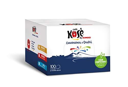 Kosè by Kimbo Cialde Cremoso Compostabili Ese 100 Pezzi - 700 g