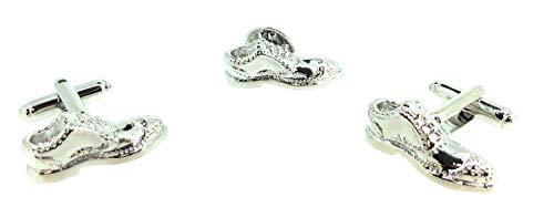 Gemelolandia | Pack Completo de Pin y Gemelos Para Camisa de Zapatos...