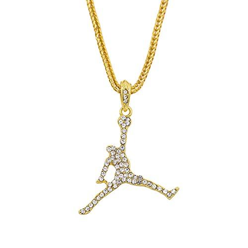 Collar de personalidad, collar colgante creativo, estilo europeo y americano, cadena de suéter, cadena de clavícula. Starfish debe, materiales de aleación,